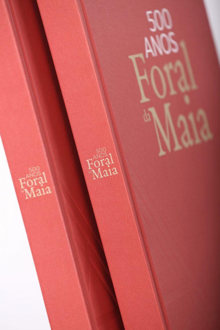 Livro 500 anos do Foral da Maia